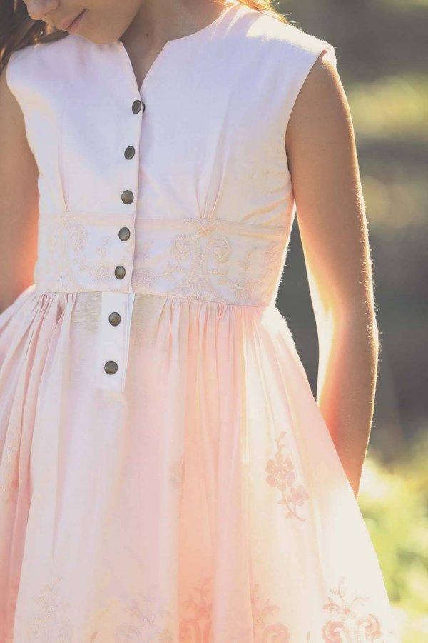 Opal Pretty Pink Vintage Dress