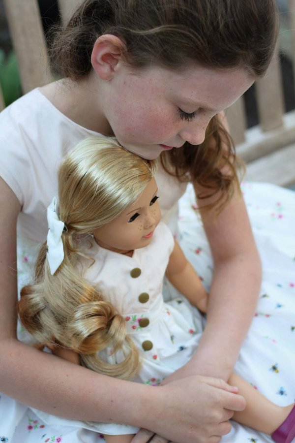 Opal matching dresses for girls + dolls