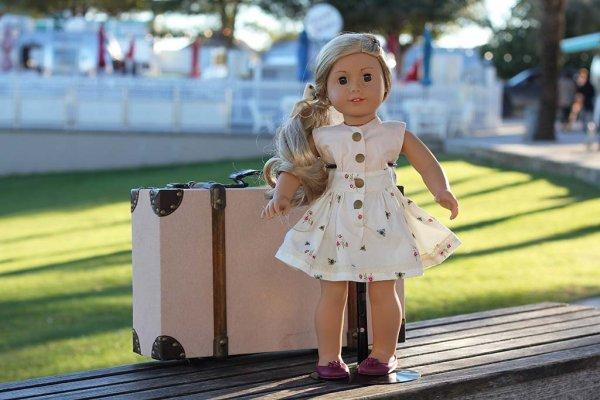 2 tone Opal doll dress