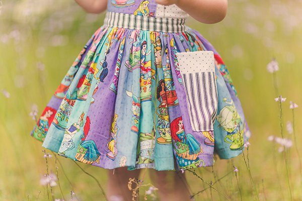 Bristol girls dress skirt and pocket