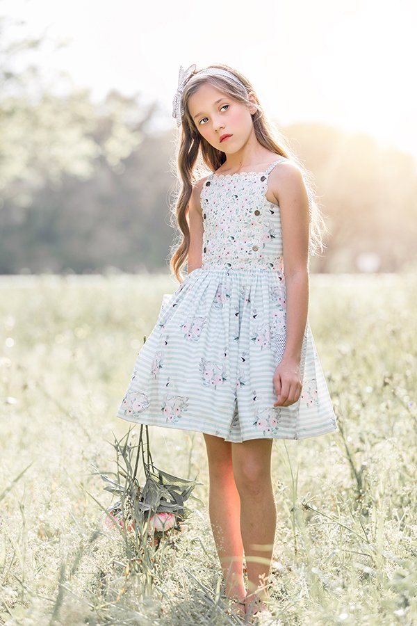 strap top Bristol vintage girls dress