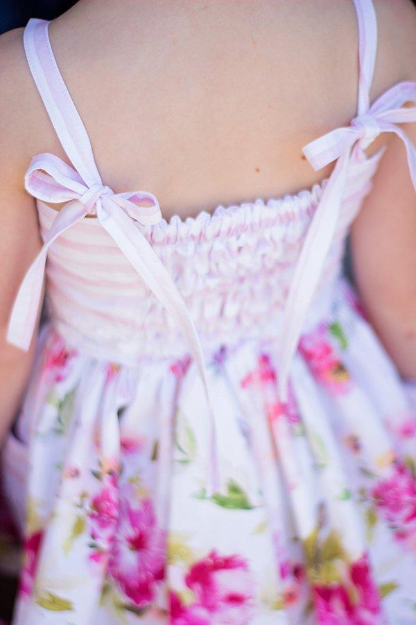 tie straps detail