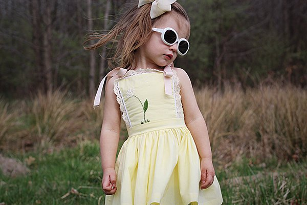 cool shades yellow bristol dress