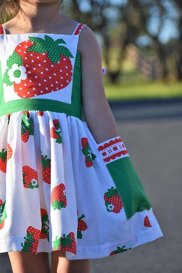 Bristol strawberry dress
