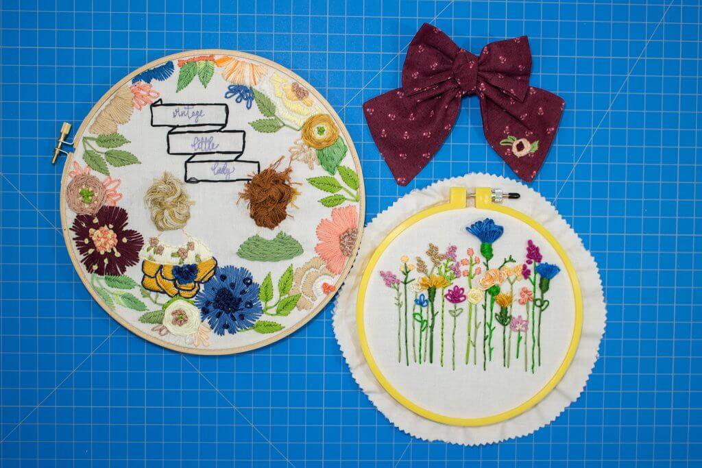 Hand Embroidery Made Easy Vintage Little Lady