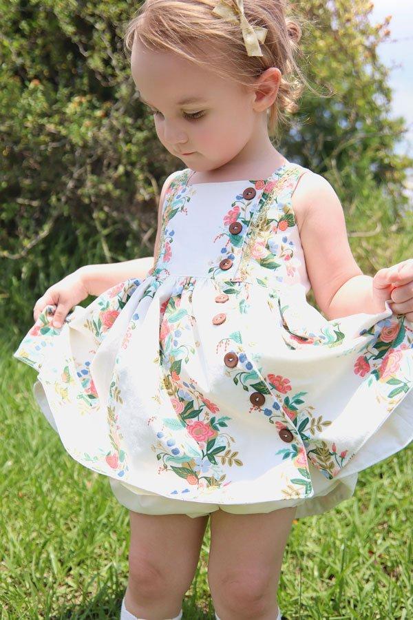 short skirt baby Baker dress