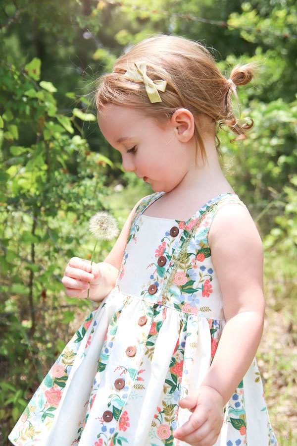 sleeveless baby Baker dress