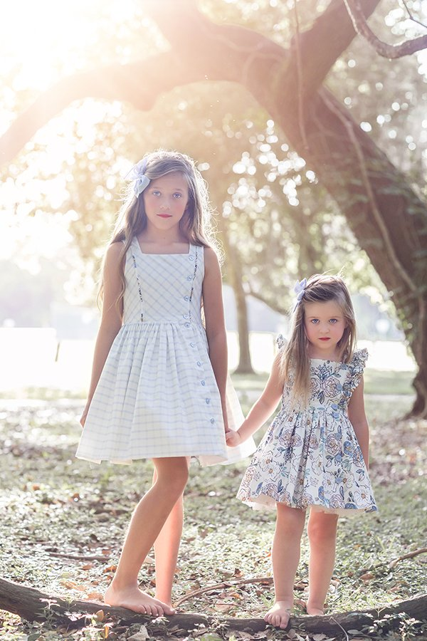 Baker girls dress for sisters