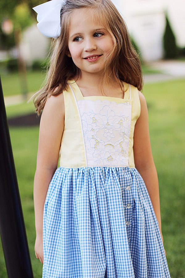 Baker girls vintage summer dress