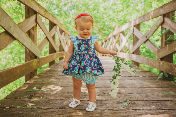 Baker baby summer dress and bloomers