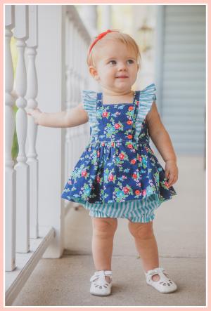 Baker baby vintage dress