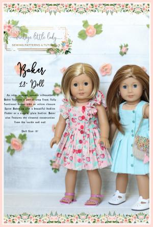 Baker doll vintage dress