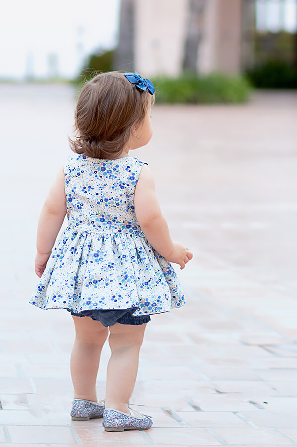 baby Baker dress and bloomers
