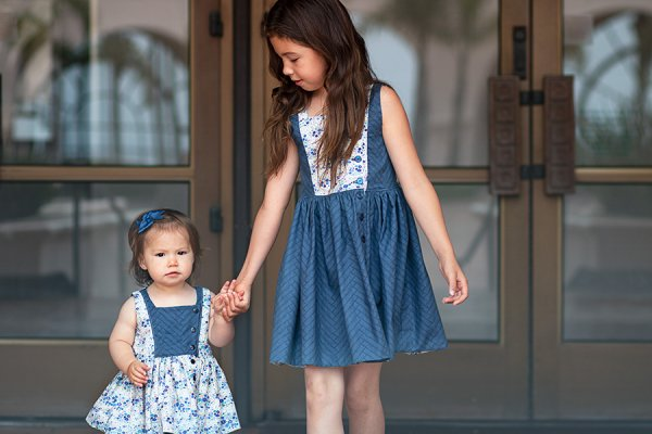 Baker girls and baby dresses