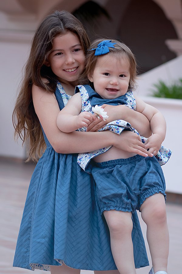 Baker big sister little sister with bloomers