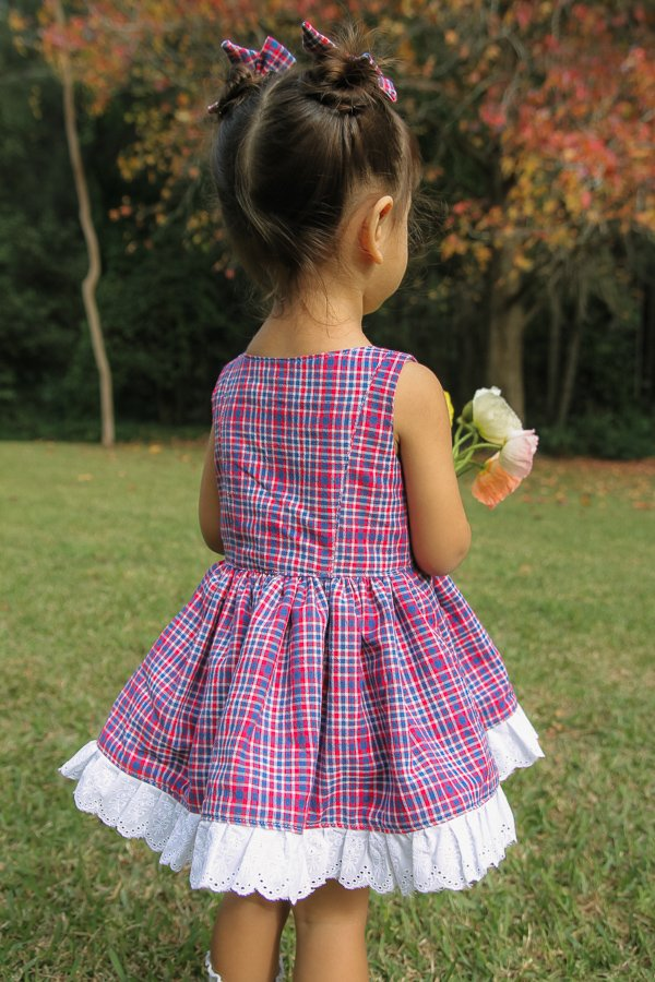 plain bodice on Baker summer dress