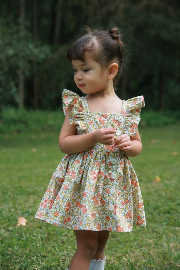 sweet Baker summer dress for little girls
