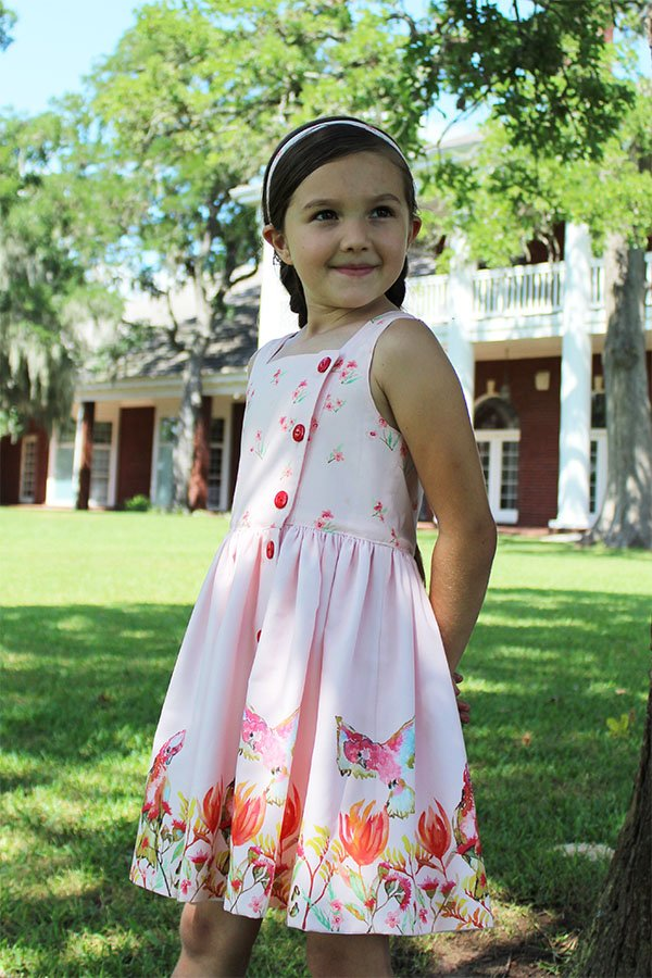 Baker girls sleeveless summer dress