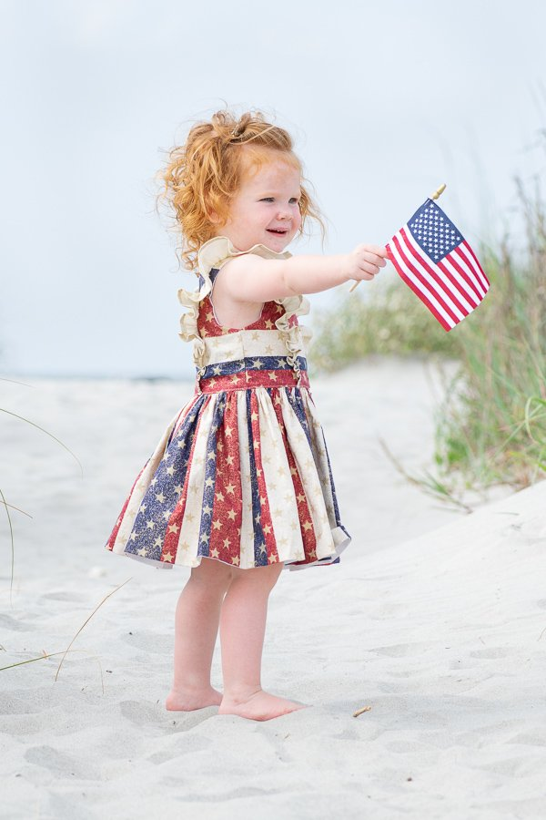 Baker stars and stripes dress