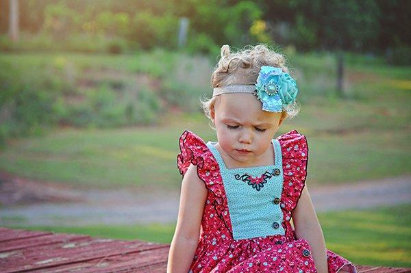 little girls Baker summer dress
