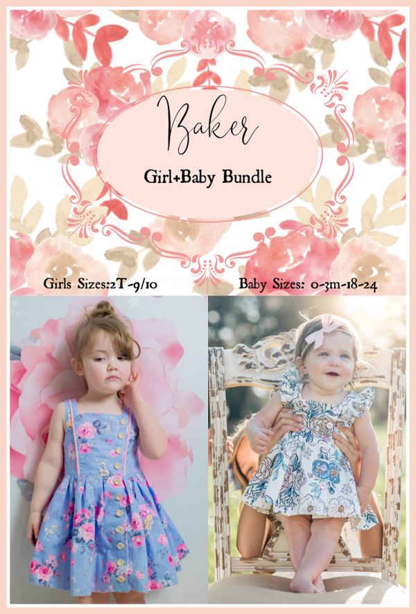 Baker girls and baby bundle