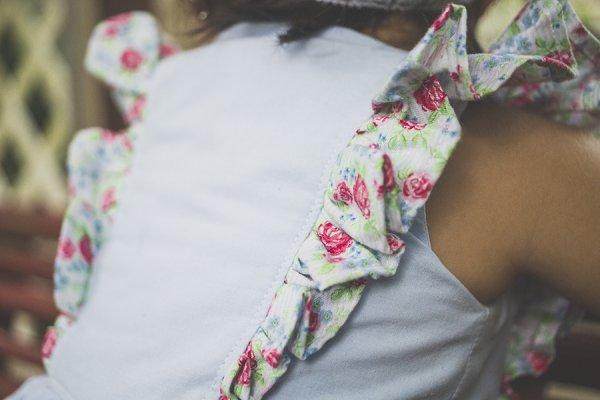 baby Baker dress flutter detail
