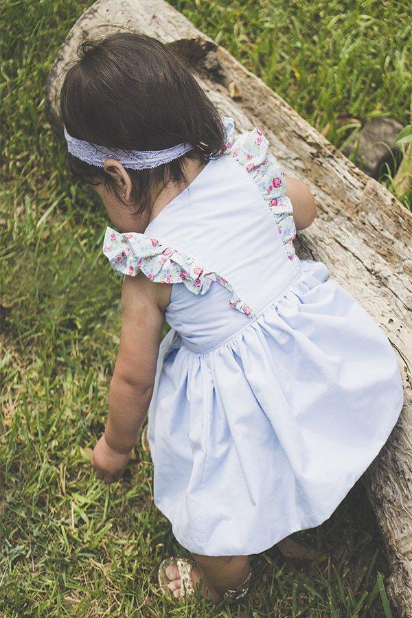 baby Baker dress back detail