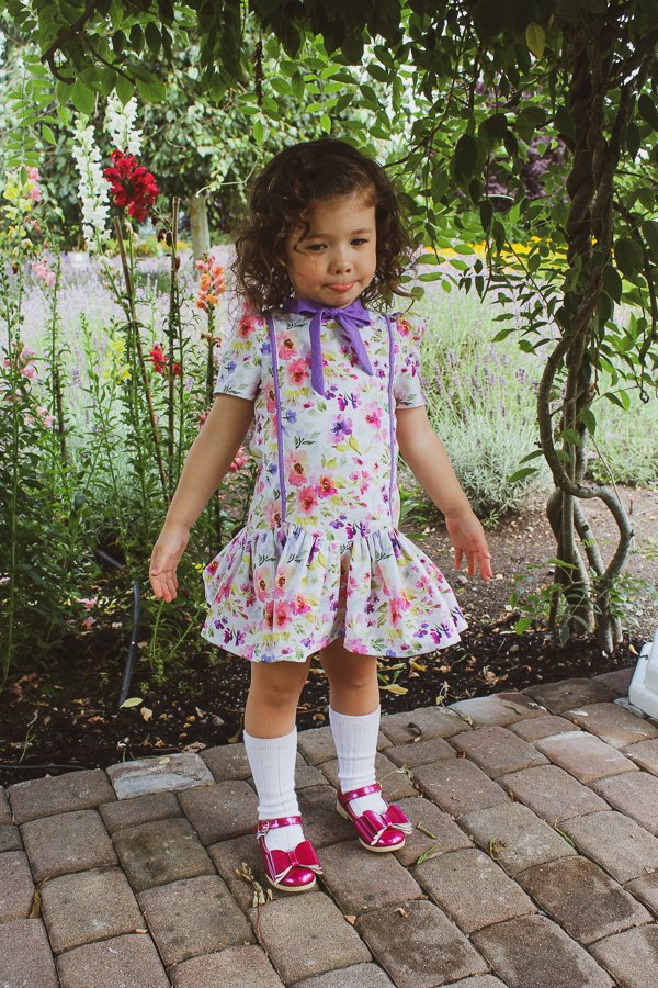 Falleyn childrens vintage dress