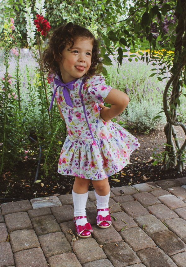 Falleyn sassy vintage childrens dress