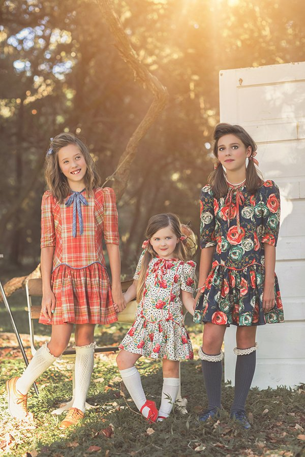 Falleyn vintage children girls tween