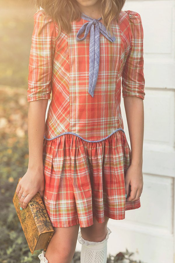 Falleyn plaid front