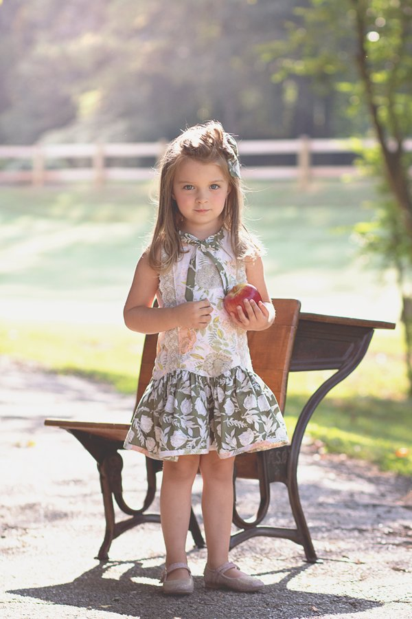 Falleyn vintage childrens dress sleeveless