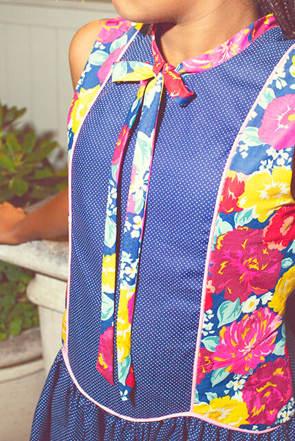Falleyn sleeveless front detail