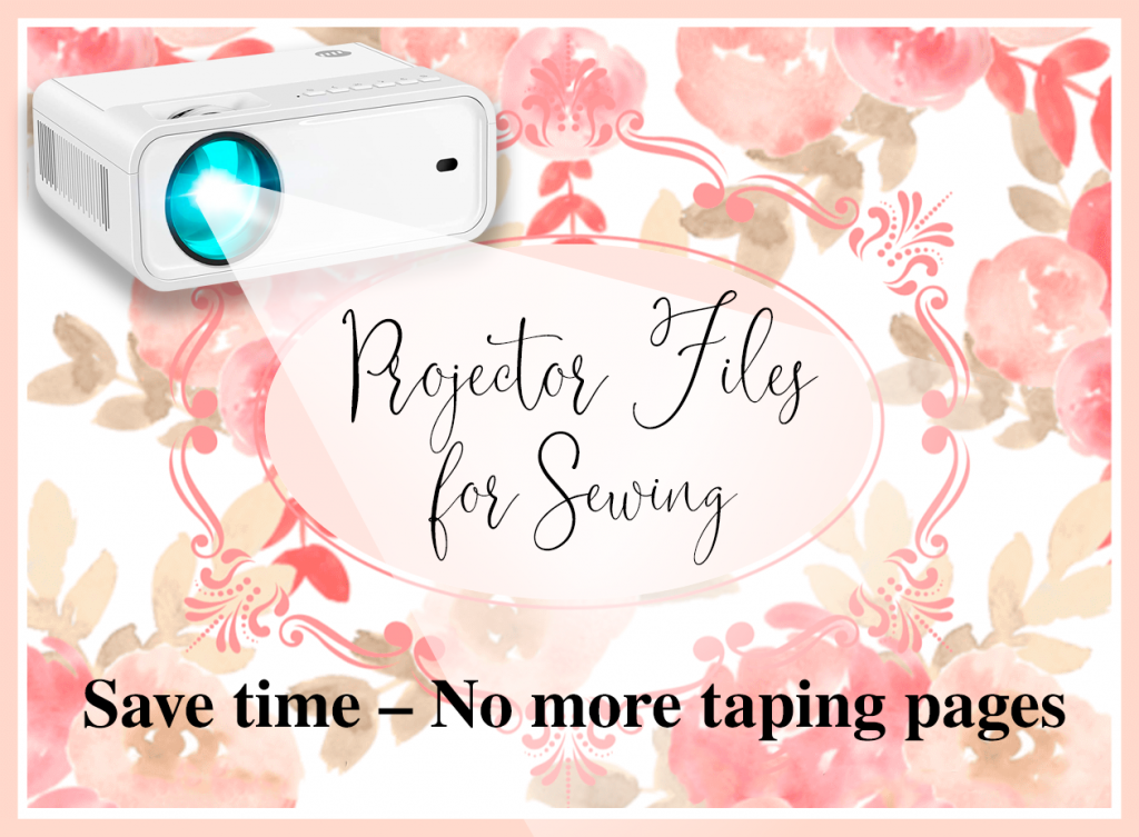 Projector Files for Sewing